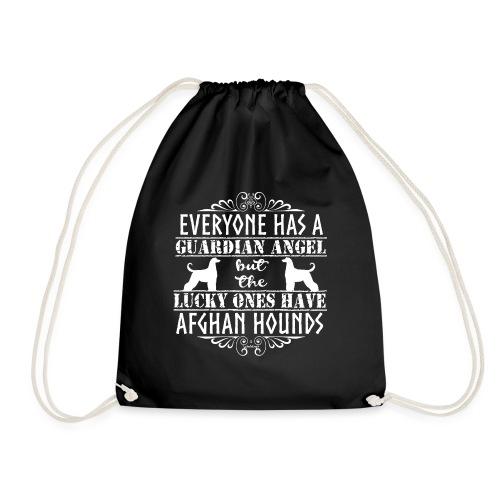 Afghan Hound Angels 2 - Drawstring Bag