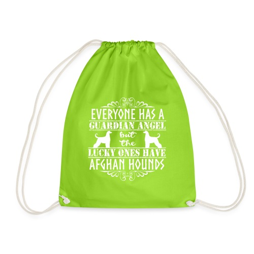 Afghan Hound Angels 2 - Drawstring Bag