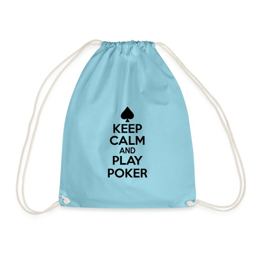 Keep Calm And Play Poker - Sac de sport léger