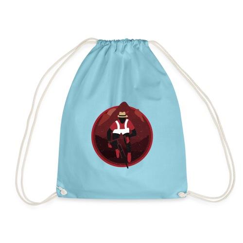 Shirt Mascot Badge png - Drawstring Bag