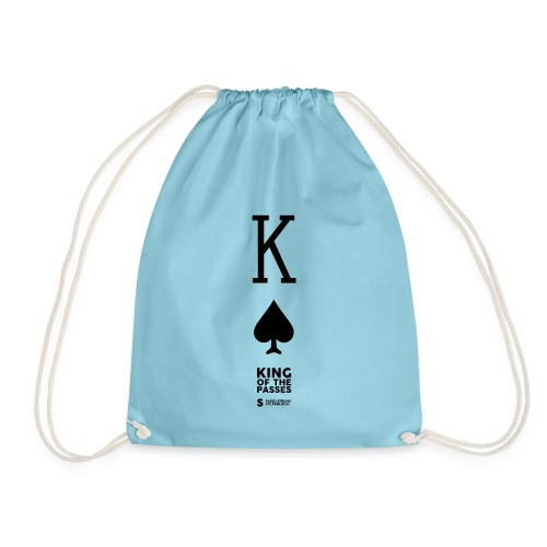 KING OF THE PASSES - Drawstring Bag