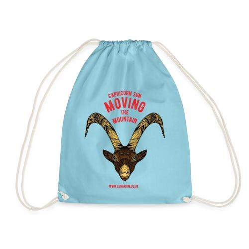 Capricorn Sun Bright - Drawstring Bag