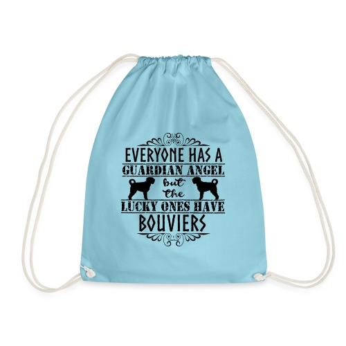 Bouvier Angels - Drawstring Bag