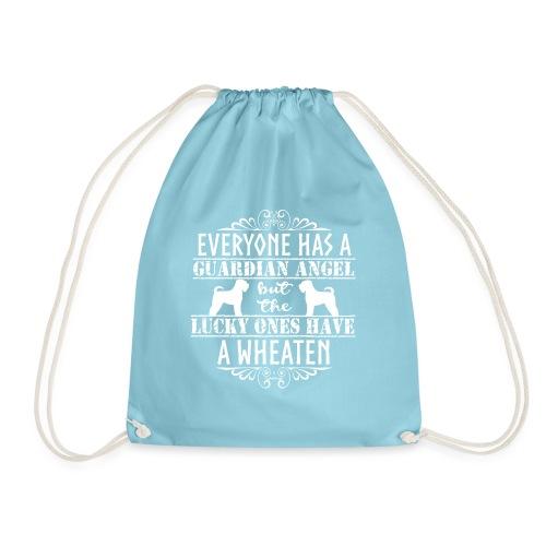 wheatenangels3 - Drawstring Bag