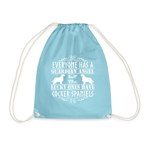 cockerangel3 - Drawstring Bag
