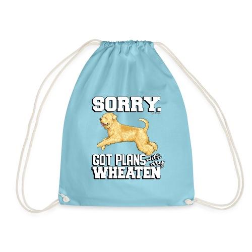 Wheaten Terrier Plans - Drawstring Bag
