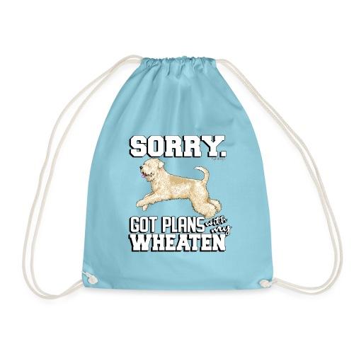 Wheaten Terrier Plans 2 - Drawstring Bag