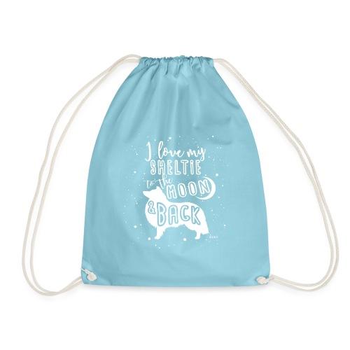 Sheltie Moon - Drawstring Bag