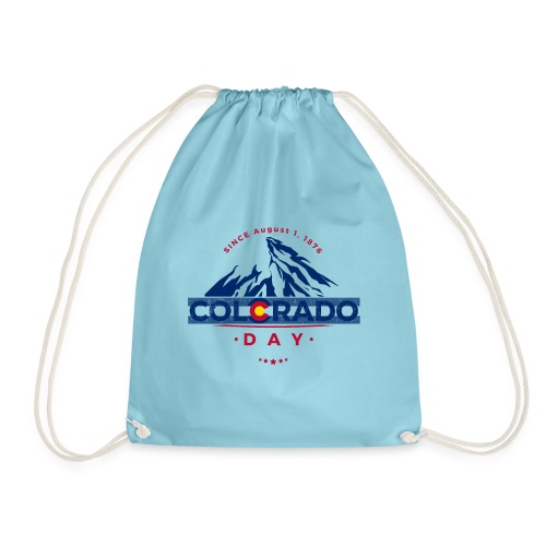Colorado Day 2018 state flag mountain T shirt - Sac de sport léger