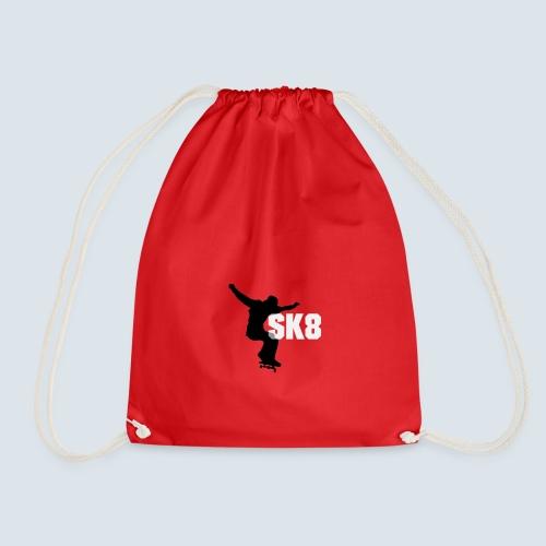 SK8 Logo1 png - Drawstring Bag