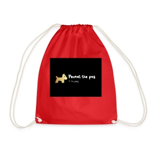 Peanut the Pug Edition - Drawstring Bag