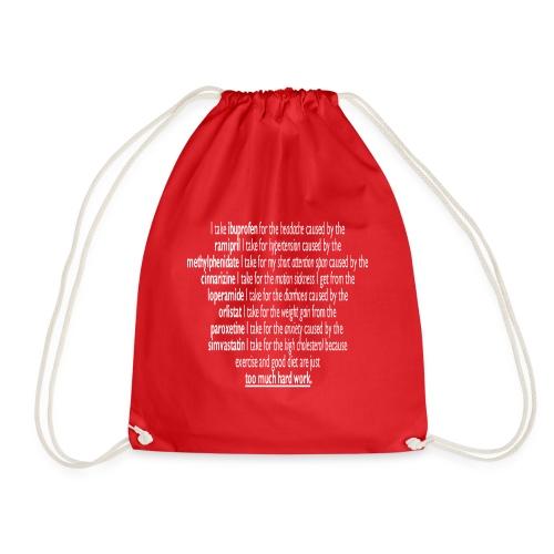 Polypharmacy is life! - Drawstring Bag