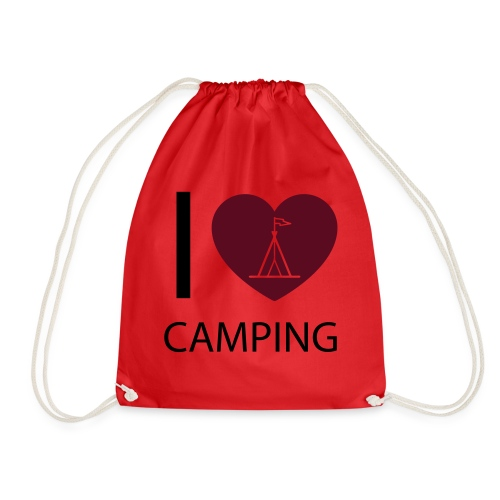 I love Camping - Turnbeutel