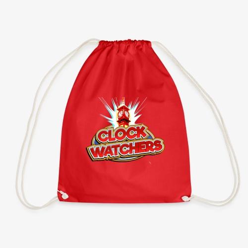 The Clockwatchers logo - Drawstring Bag
