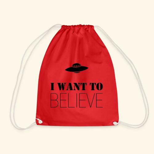 I Want To Believe - Mochila saco