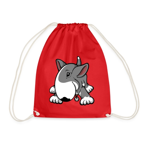 Play Time Bully Grey - Drawstring Bag