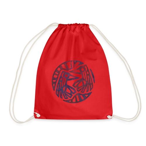 Crow-Girl Emblem - Drawstring Bag