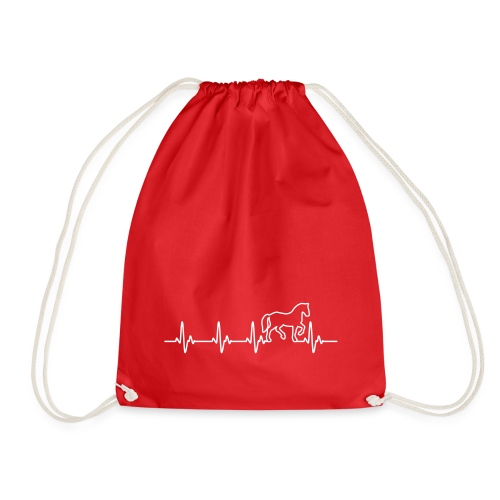 Vorschau: Horse Heartbeat - Turnbeutel