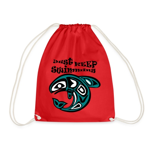 Just KEEP Swimming - Turnbeutel