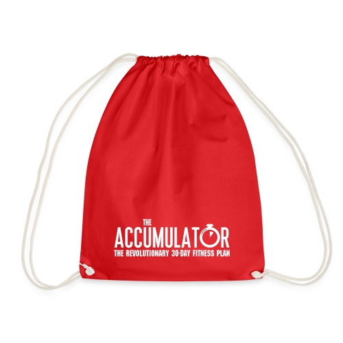 Name only white - Drawstring Bag