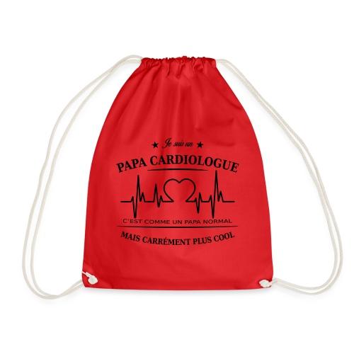 papa cardiologue - Sac de sport léger
