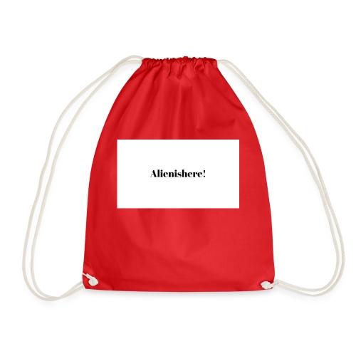 Alienishere - Drawstring Bag