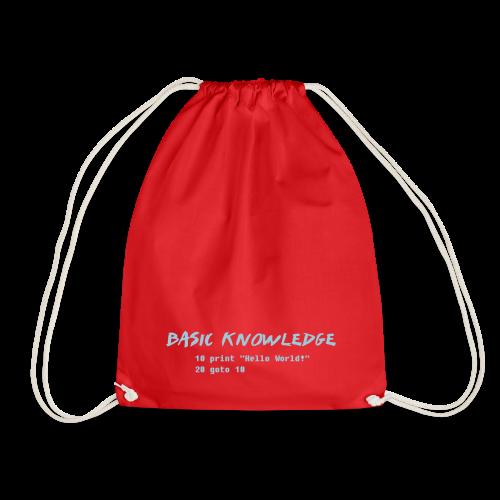 Basic Knowledge - Gymnastikpåse