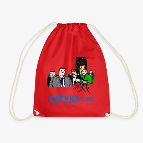 The Main Characters. - Drawstring Bag