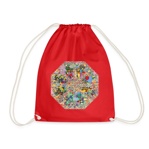 celtic knot - Drawstring Bag