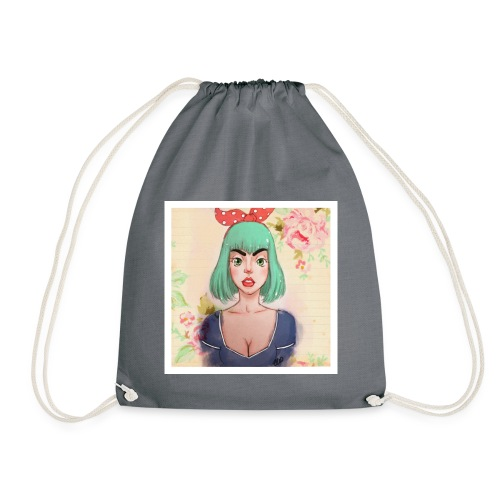 elena of spain - Drawstring Bag