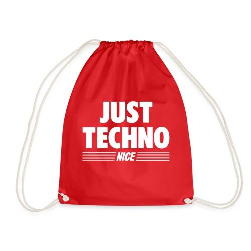 Just techno - Drawstring Bag