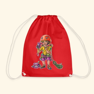 Little baby climber 3 - Drawstring Bag