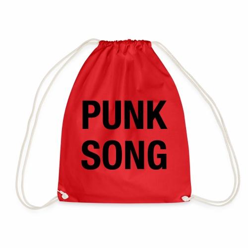 PUNK SONG - Drawstring Bag