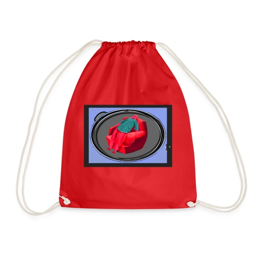 Red Ken - Drawstring Bag
