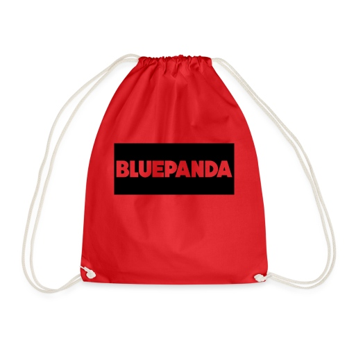 BLUE PANDA - Drawstring Bag
