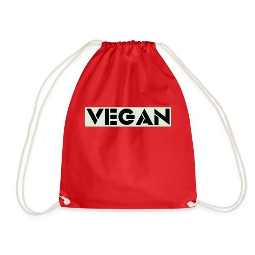 VEGAN IN BOLD - Drawstring Bag