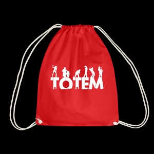 Just TOTEM logo - Drawstring Bag