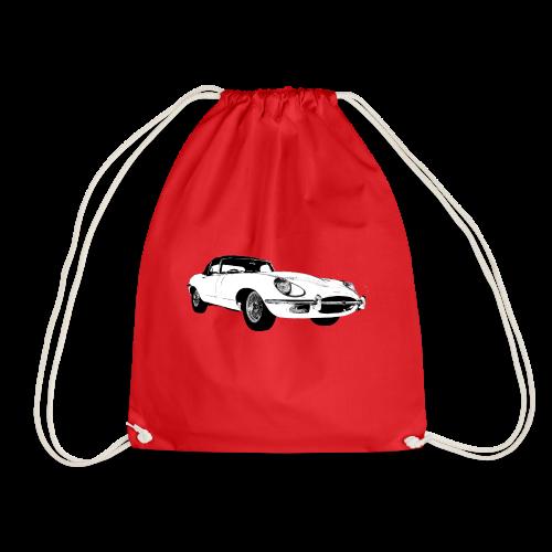 E type jag - Drawstring Bag