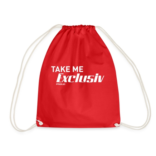 Take me Exclusiv - Turnbeutel