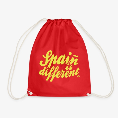 Spain is different con ñ - Mochila saco