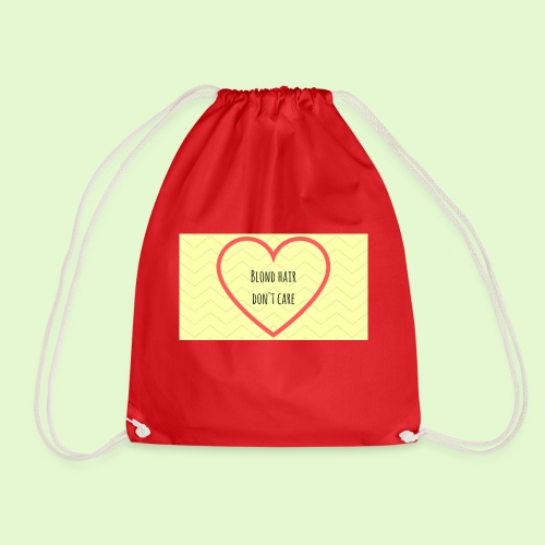 Blond rules! - Drawstring Bag