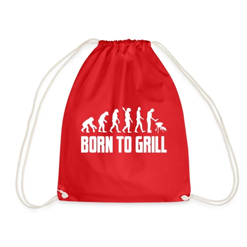 born to grill evolution - Turnbeutel