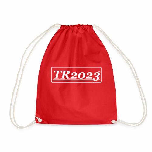 TR2023 #TR2023 - Logo in weiß - Turnbeutel