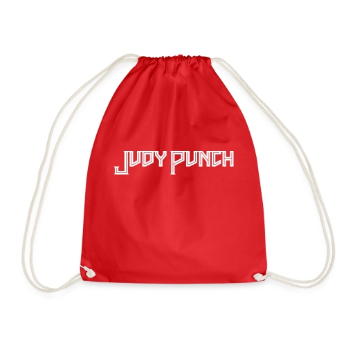 Judy Punch text - Drawstring Bag