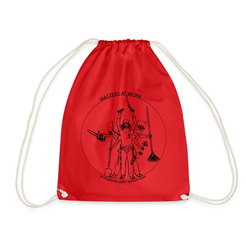 Tree vinci - Drawstring Bag