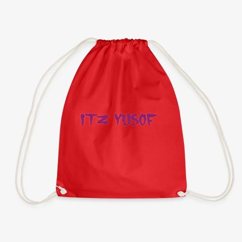 my new merch itz yusof - Drawstring Bag