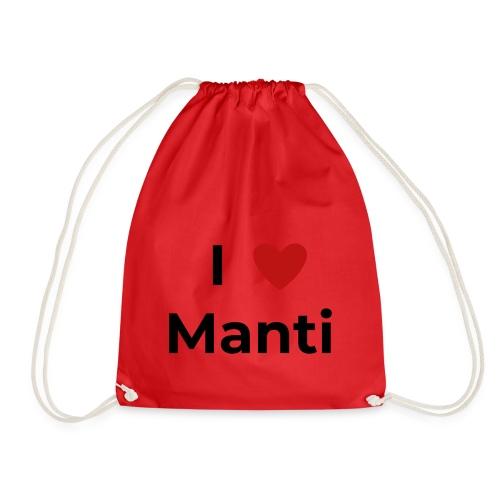 I love Manti - Turnbeutel
