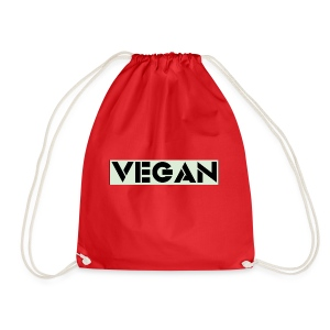 VEGAN IN BOLD - Drawstring Bag