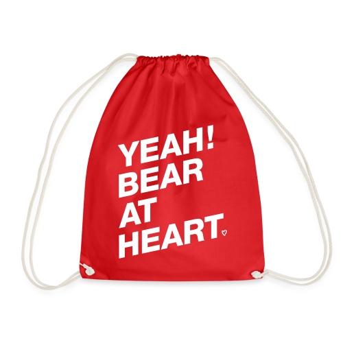 Yeah Bear at Heart - Turnbeutel
