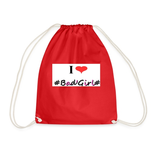 Collection Hastag I love bad girl - Sac de sport léger